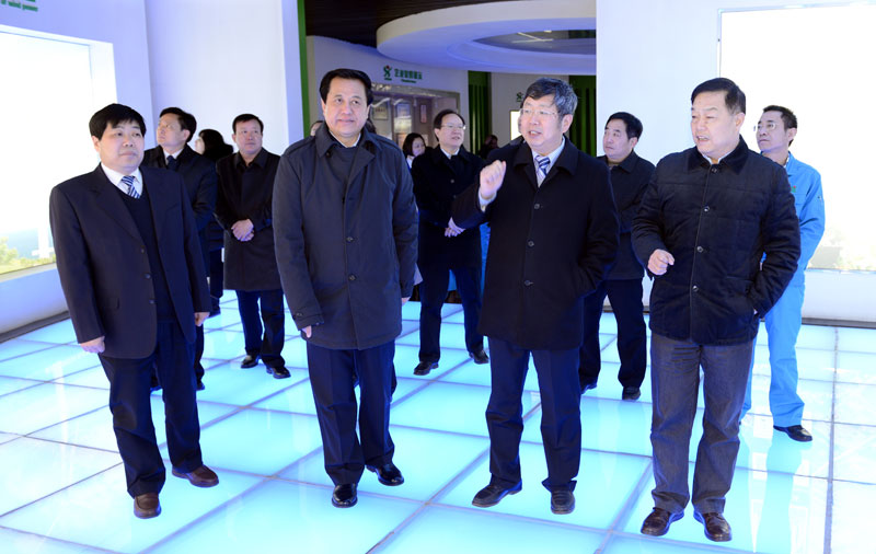 President of Zhengzhou University Liu Jiongtian Visited Senyuan
