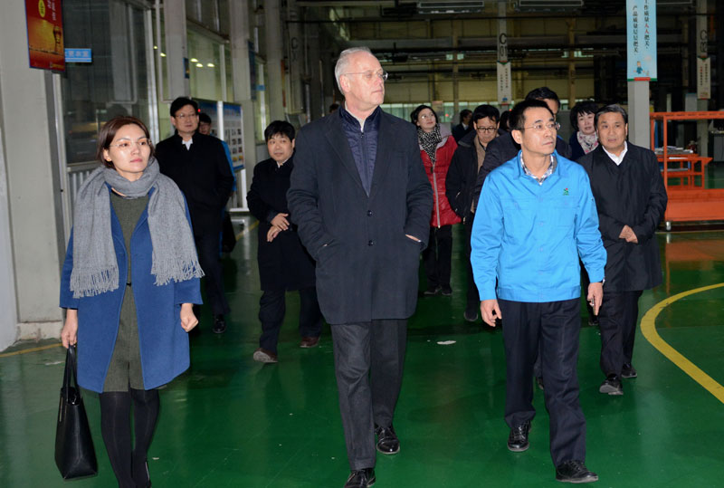 Former German Federal Minister of Defense Rudolf Scharping Visited Senyuan