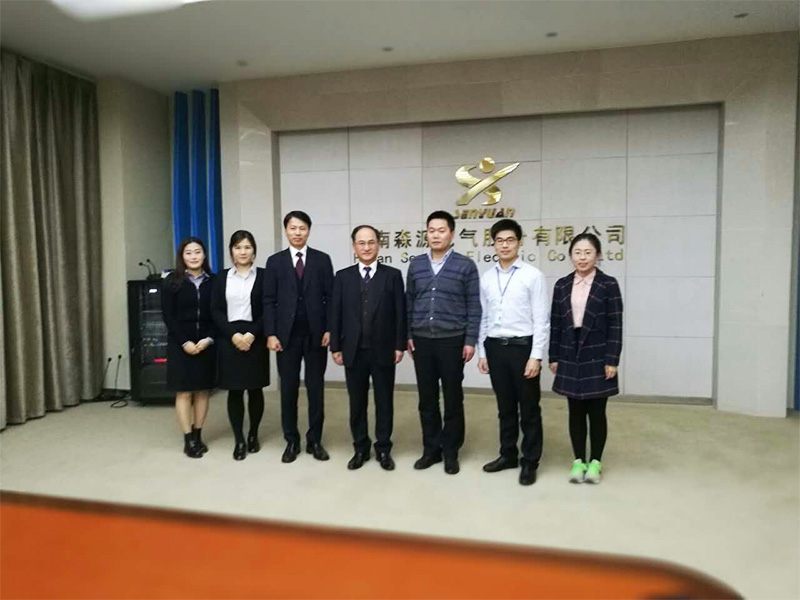V-tech company from South Korea visited Senyuan and signed the agency agreement in November, 2016.