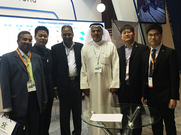 Senyuan attended the Middle East Electricity (MEE) in Dubai on March 1st, 2016.
